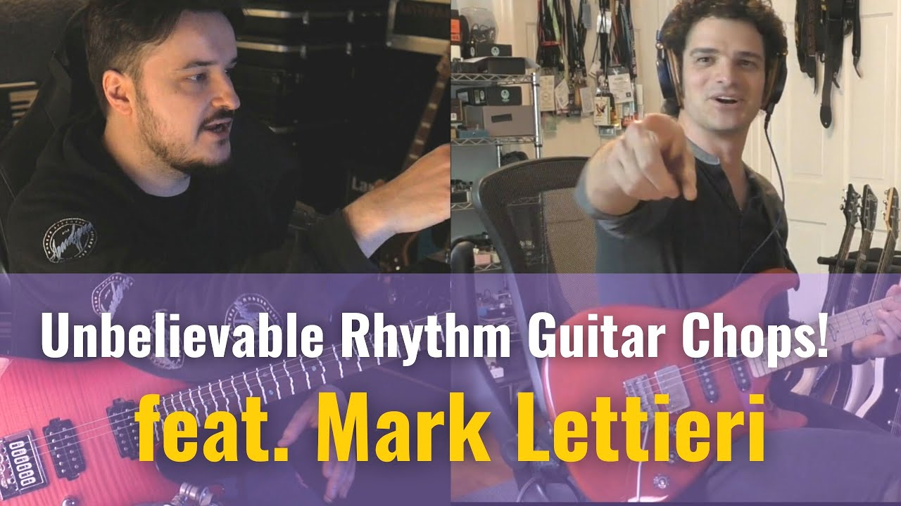 Mark Lettieri Teaches me Creative Rhythm Guitar | Lessons with the Greats (Full Guitar Lesson)