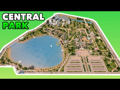 Building a huge Central Park & Zoo in Cities: Skylines | No Mods Vanilla City Build Ep. 7