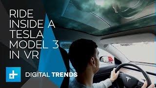 Ride inside a Tesla Model 3 in VR thumbnail