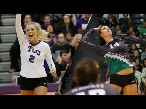 2015 Hawai'i vs TCU NCAA Women's Volleyball 1st Round
