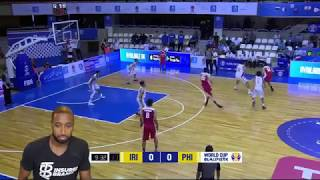 PHILIPPINES VS IRAN FIBA BASKETBALL WORLD CUP 2019 ASIAN QUALIFIERS REACTION