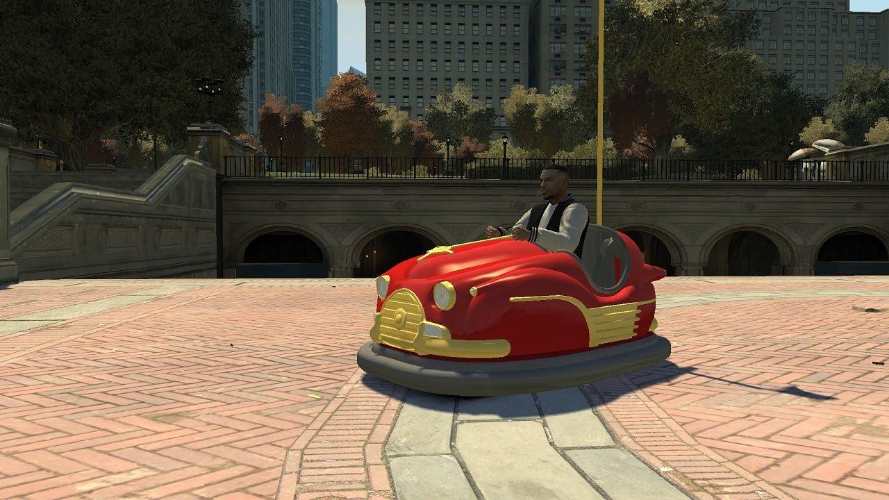 Grand Theft Auto IV - Bumper Car (MOD) HD - YouTube