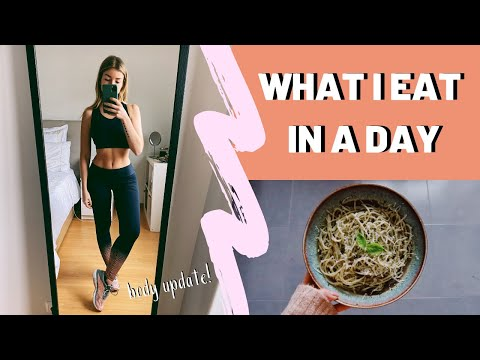 2020 BODY UPDATE + What I Eat In A Day
