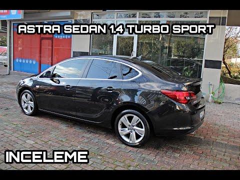 Astra Sedan 1.4 Turbo Sport - Türkçe İnceleme