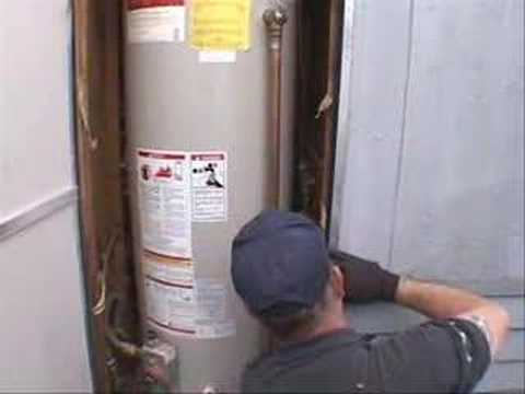 Insulating a Mobile Home Water Heater - YouTube