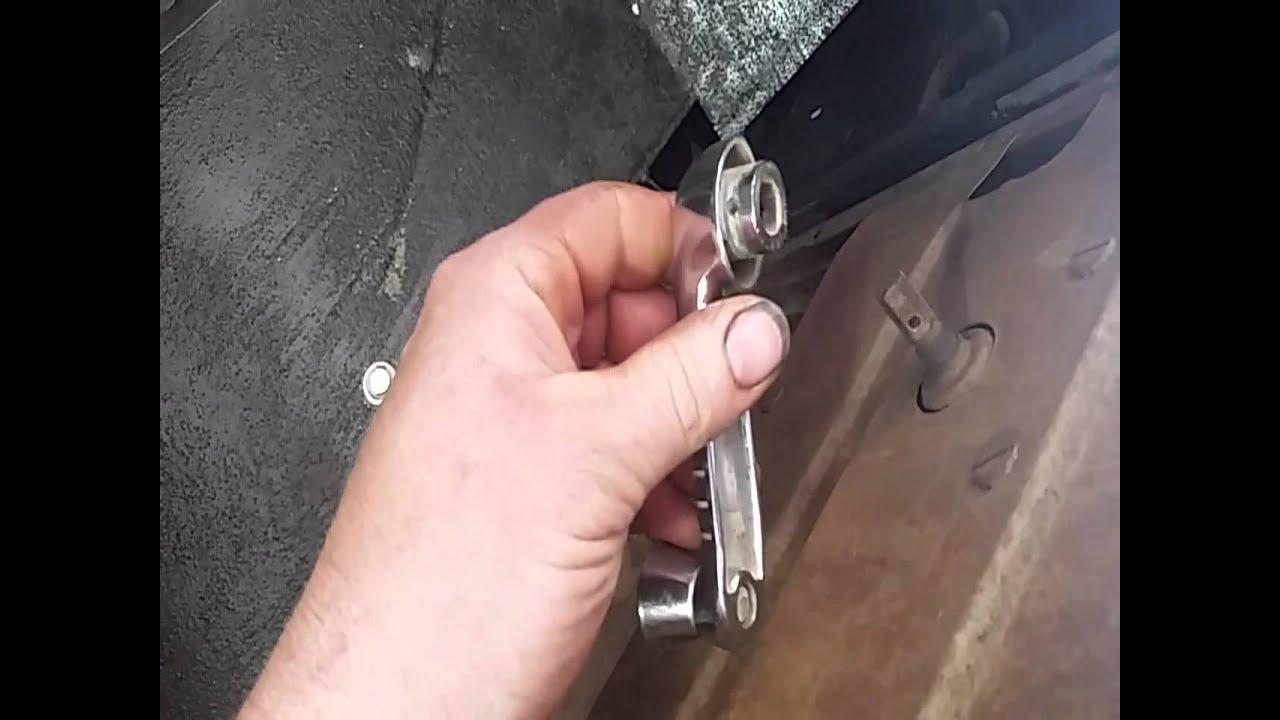 Model A Window Crank Repair
