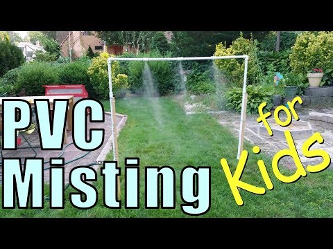 Build a PVC Misting System for Your Kids – Backyard PVC Project