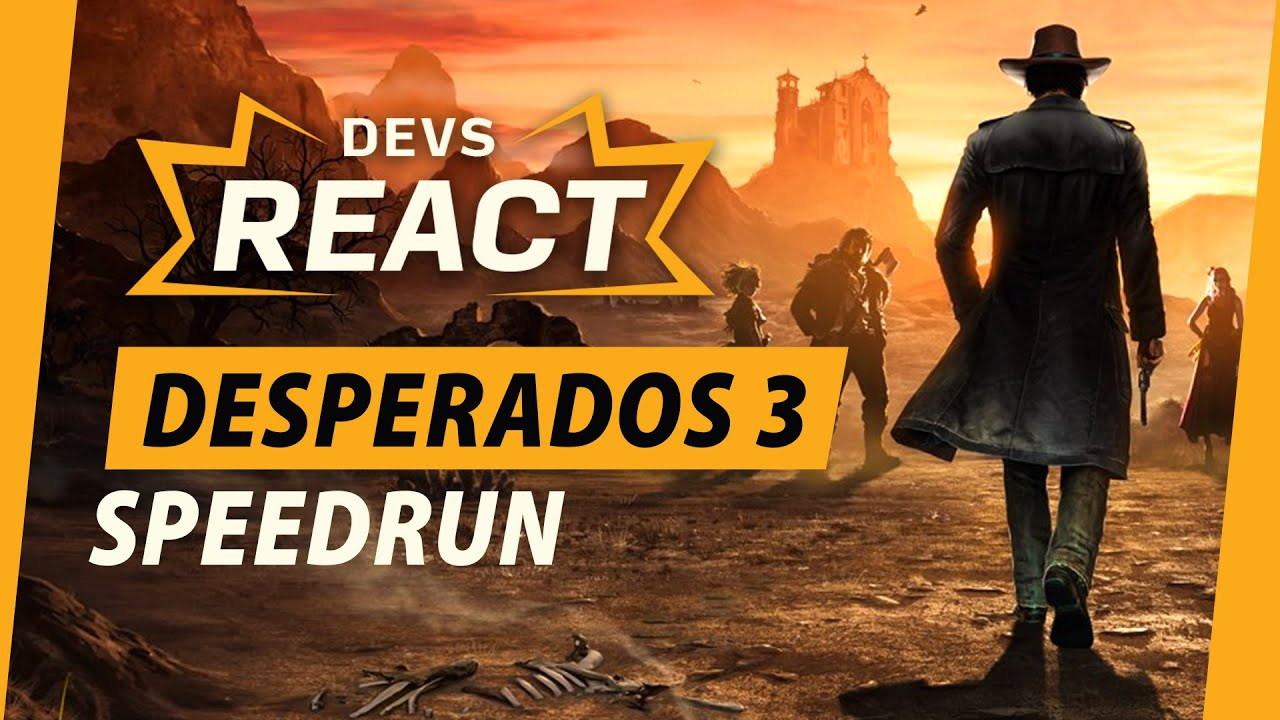 Developers React to Desperados 3 Speedrun