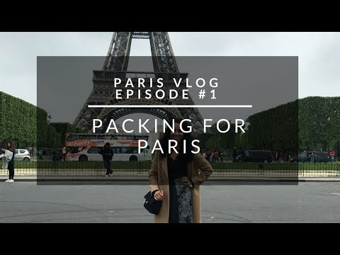 Travel Vlog Episode #1: Packing for Paris