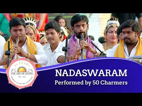 Nadaswaram - Classical Musical Instrument from Southern, India | World Culture Festival 2016