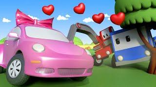 Kleinen Trucks   Ein hübsches Auto - Lerne mit den kleinen Trucks 👶 🚚 Lehrreiche Cartoons für Kinder