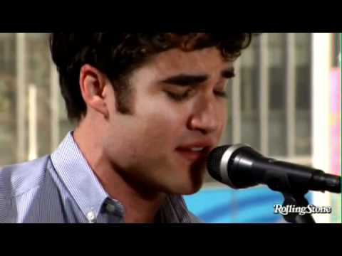 Darren Criss RollingStone.Com Acoustic Performance Somewhere Only We Know
