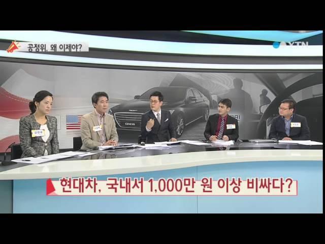 현대차, 국내서 1,000만 원 이상 비싸다? / YTN