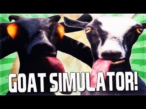 Goat Simulator Funny Moments: King Of Goats, Aliens, Space, JetPack!