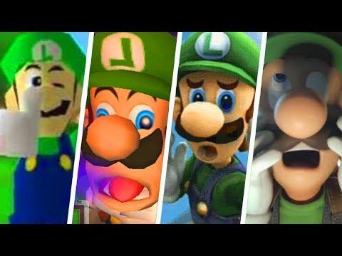 Evolution of Funny Luigi Moments 1999 - 2019
