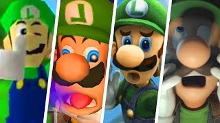 Evolution of Funny Luigi Moments (1999 - 2019)