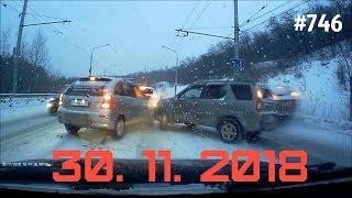 ☭★Подборка Аварий и ДТП/Russia Car Crash Compilation/#746/November 2018/#дтп#авария