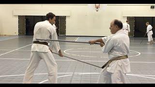 Bamboo Kumibo and Yamanni-Ryu Bo-Jutsu concepts