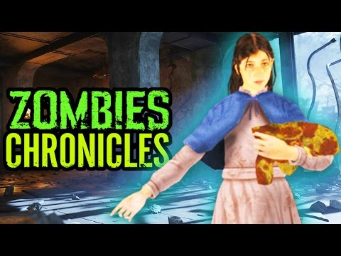 NEW SAMANTHA HIDE & SEEK EASTER EGG: Zombies Chronicles Nacht Der Untoten Easter Egg! (BO3 Zombies)