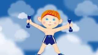 Веселая МУЛЬТ-зарядка 2 / Physical jerks. Наше_всё!(Чтобы быть бодрыми, сильными и здоровыми, детям нужно делать зарядку каждый день. Мы предлагаем сделать..., 2014-09-01T13:00:12.000Z)