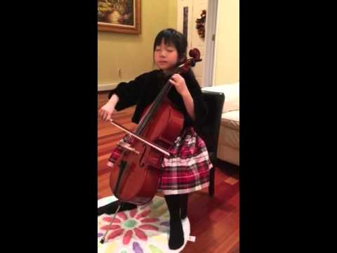 Bryanna Cello - Christmas Medley 2015
