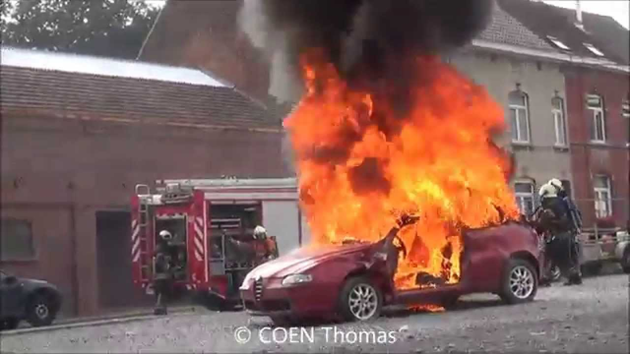 sri braine le comte feu de voiture youtube. Black Bedroom Furniture Sets. Home Design Ideas