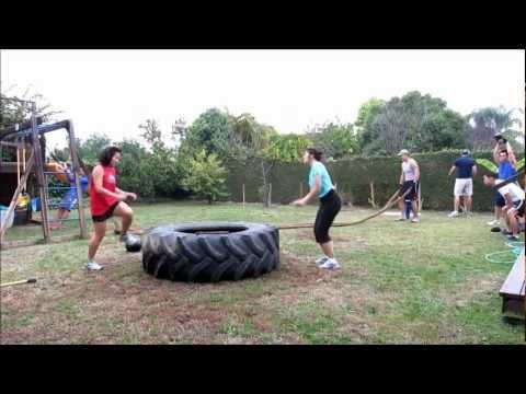 backyard wod boot camp / crossfit style