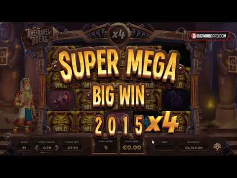 TIME TRAVEL TIGERS (YGGDRASIL GAMING) ONLINE SLOT