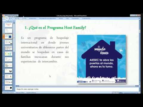 Experience Education Cicle | Host Family