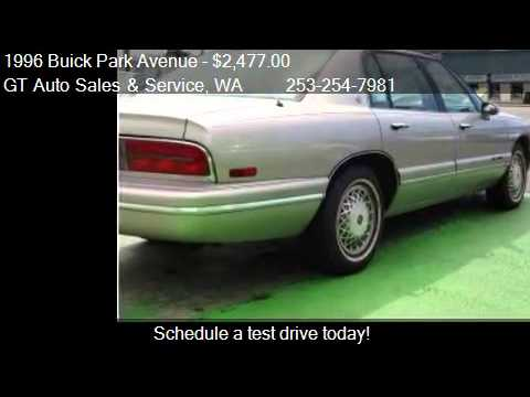 1996 buick park avenue for sale in tacoma wa 98409. Black Bedroom Furniture Sets. Home Design Ideas