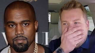 Kanye West CANCELED Carpool Karaoke Last Minute & Cost Late Late Show $45K