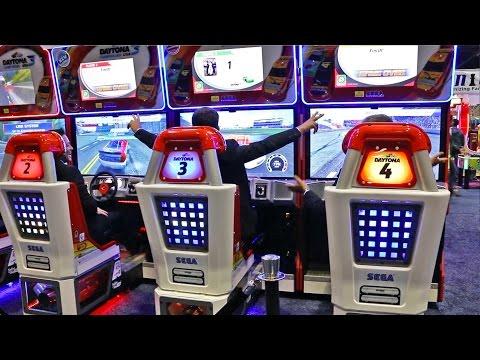 Daytona at IAAPA 2016 | Sega Amusements