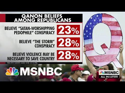 Poll: 28% Of Republicans Believe Core Q-Anon Beliefs
