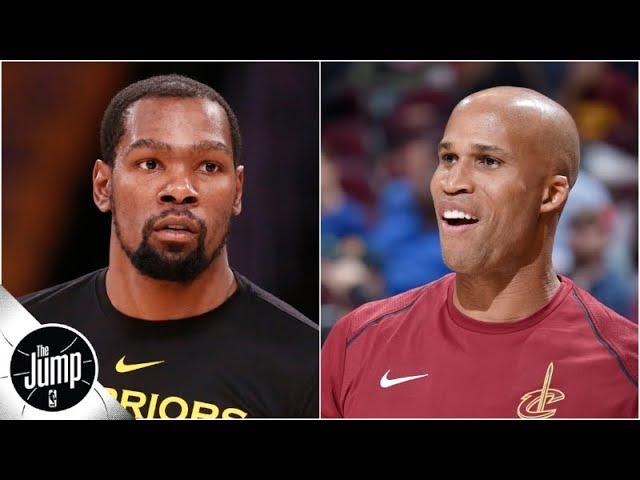 Kevin Durant responds on Instagram to Richard Jefferson's criticism | The Jump