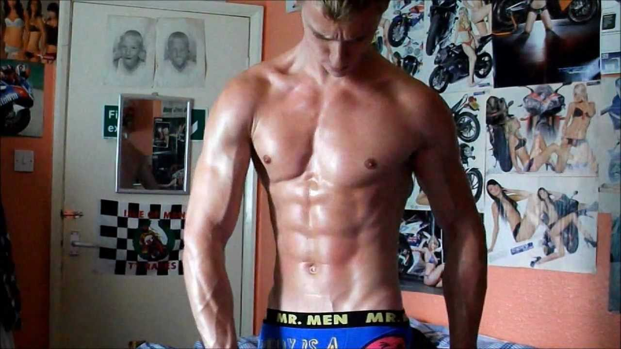 Extremely Ripped and Lean Muscle Flexing Update June 2012