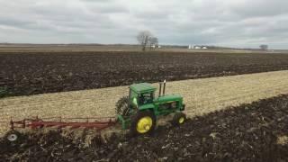 20, 30, 40 series John Deere Tractors Plowing