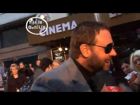 Russell Crowe: Grumpiest man alive?