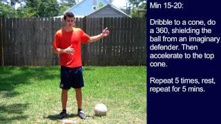 Soccer Training - 30 Minute Soccer Training Session #8 - Online Soccer Academy