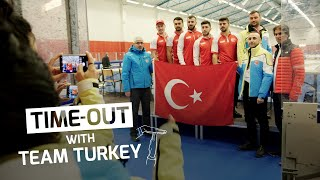 Time-out with Team Turkey