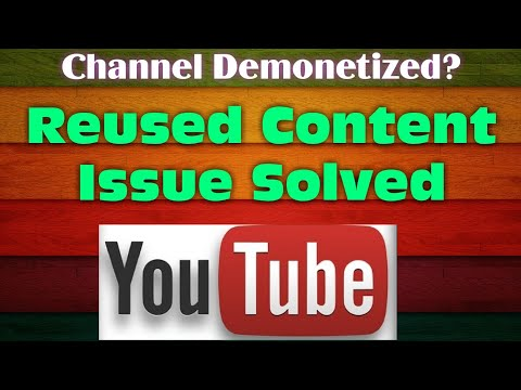 Effects of Reused Content on Monetization || Demonetized Due to Reused Contents