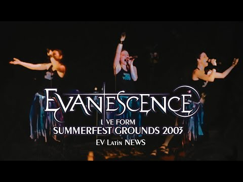 Evanescence Live at SUMMERFEST GROUNDS 2003 (1080P)