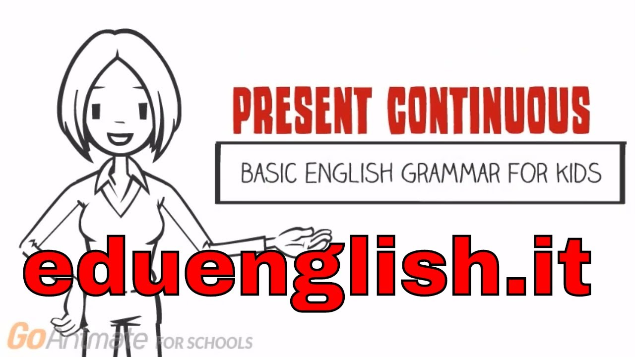 Present continuous | english grammar for beginners