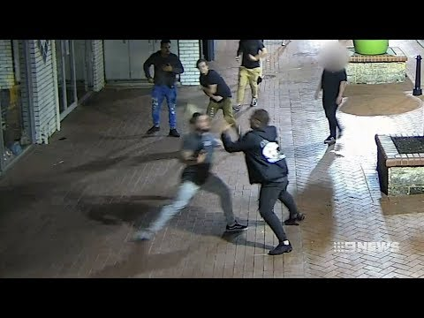 Mandurah Assault | 9 News Perth