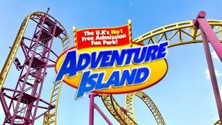 Adventure Island Vlog 11th March 2017
