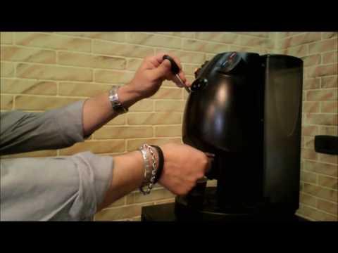 "Collaudo post-modifica macchina caffe a cialde DiDiEsse ""Frog"""