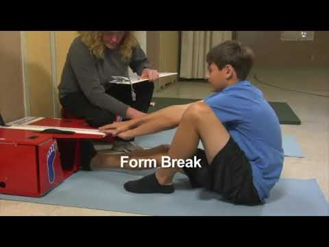 Fitness Test-  Sit and Reach