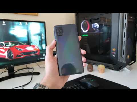Samsung Galaxy A51 Prism Crush Black from YouTube · Duration:  29 seconds
