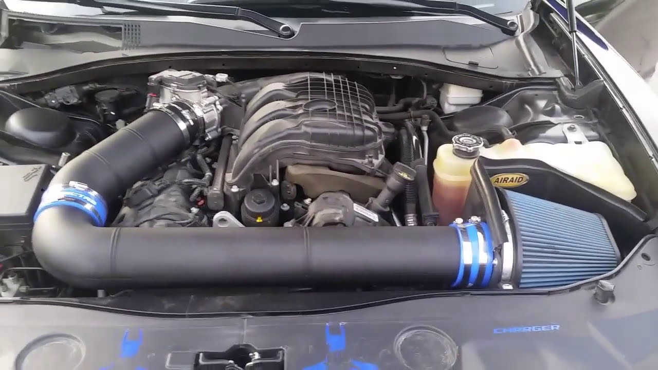 Airaid Custom Cold Air Intake 4 Inch Tubing On Dodge