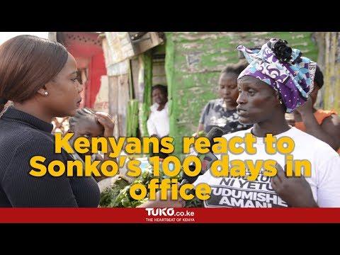 Kenyans react to Sonko's 100 days in office