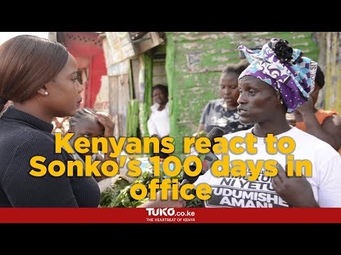 Kenyans react to Sonko's 100 days in office